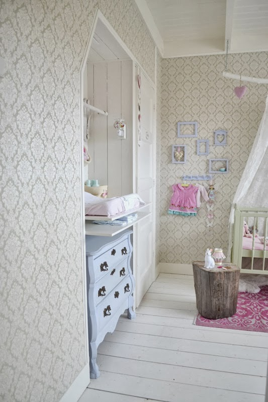 Texturas nuevas y mucha ternura en la decoración infantil