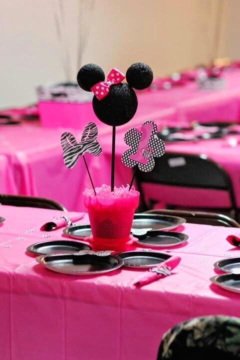 Decoración de Fiestas Infantiles de Minnie Mouse | Fiestas ...