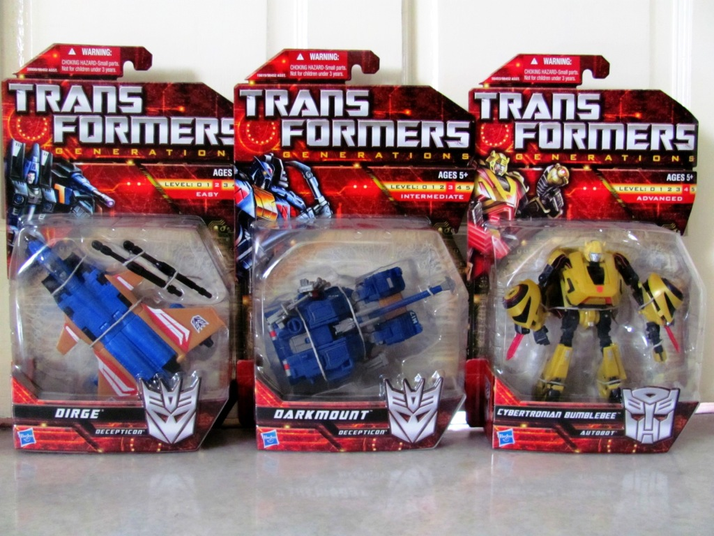 All Transformers Toys : My transformer toys whatever i see hear read feel etc