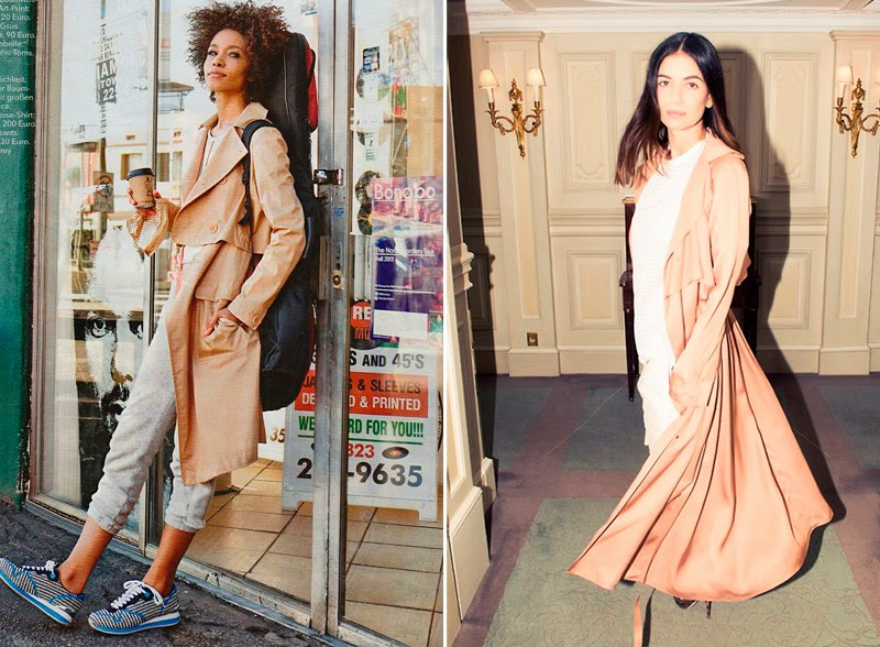 Look of the day: Wearing a Trench