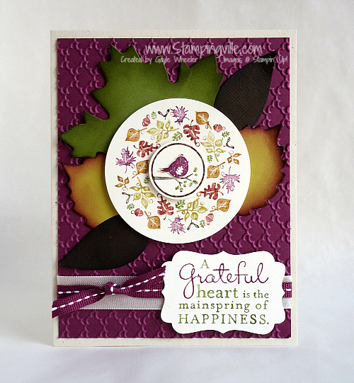 Stampin' Up! Four Seasons Stamp Set Card Idea