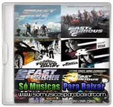 musicas+para+baixar CD Coleção Trilha Sonora Velozes e Furiosos 1 ao 6