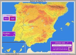 Cordilleras de España