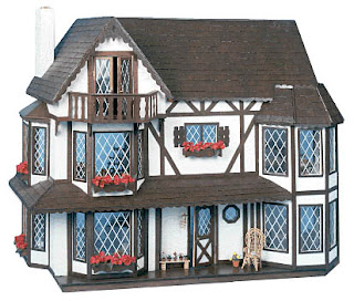 Cottage Style Dollhouse