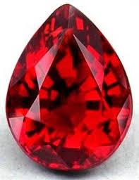 imagen como el brillo de un rubí