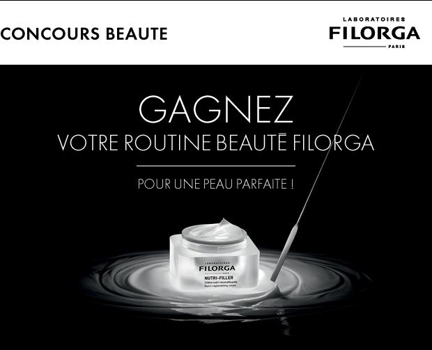 Concours ELLE 25 Beauty Routines FILORGA à gagner !