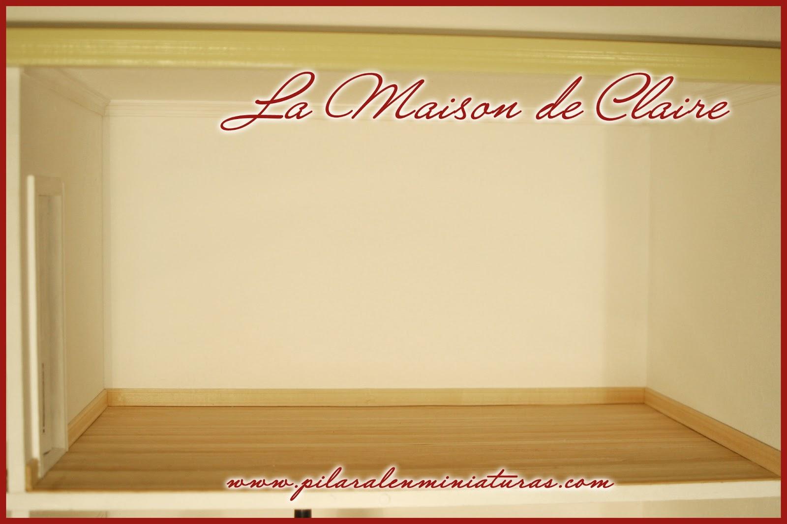 Pilar alen miniaturas la maison de claire i for Maison de claire