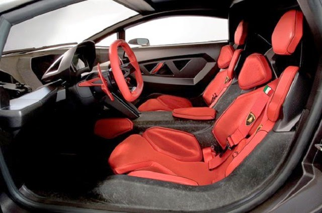 Lamborghini Sesto Elemento Interior photo