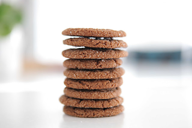 beach house in the city: chewy molasses-spice cookies ...