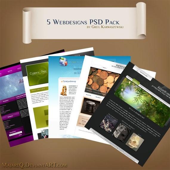 Webdesigns PSD Pack