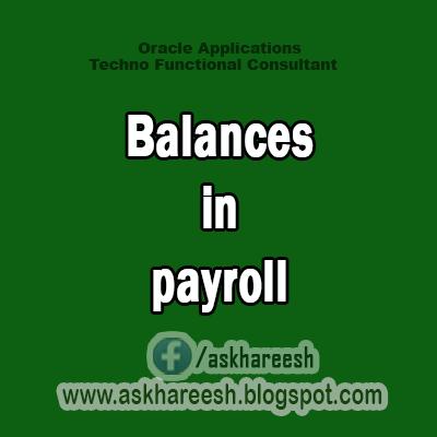 Balances in payroll,Askhareesh.blogspt.com