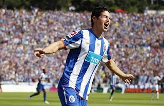 James Rodríguez reapareció marcando doblete con el Porto