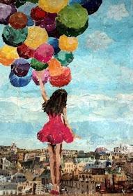 """""""Sonhar é bom, é como voar suspensa por balões."""""""