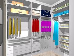 Ou prefere um closet?