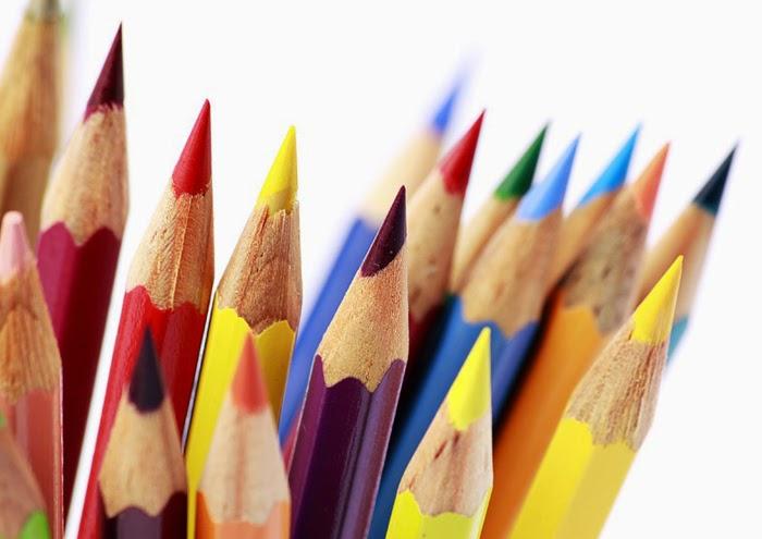 lápis, cor, escrever, desenho, ilustração