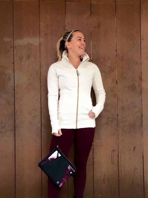 lululemon radiant-jacket-enheraten-tank present-pouch