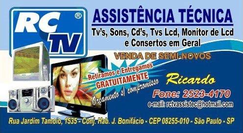 RCTV Assistência Técnica Aparelhos Eletrônicos