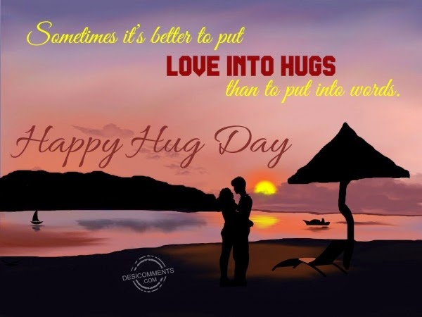 best hug day graphics and photos
