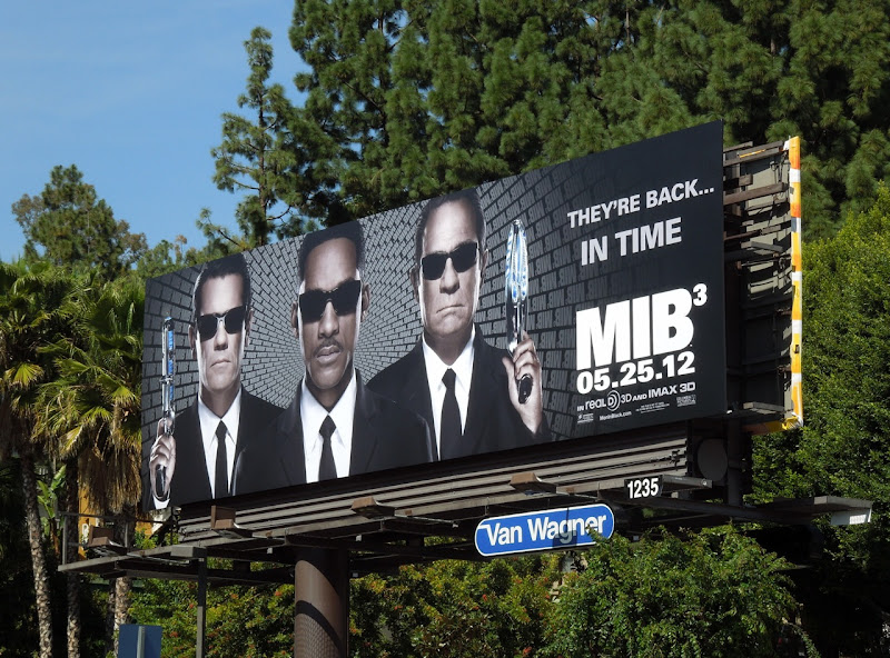 MIB3 movie billboard