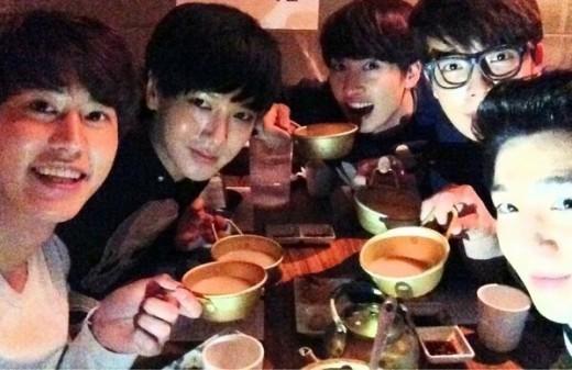 Super Junior Makan Malam Bersama