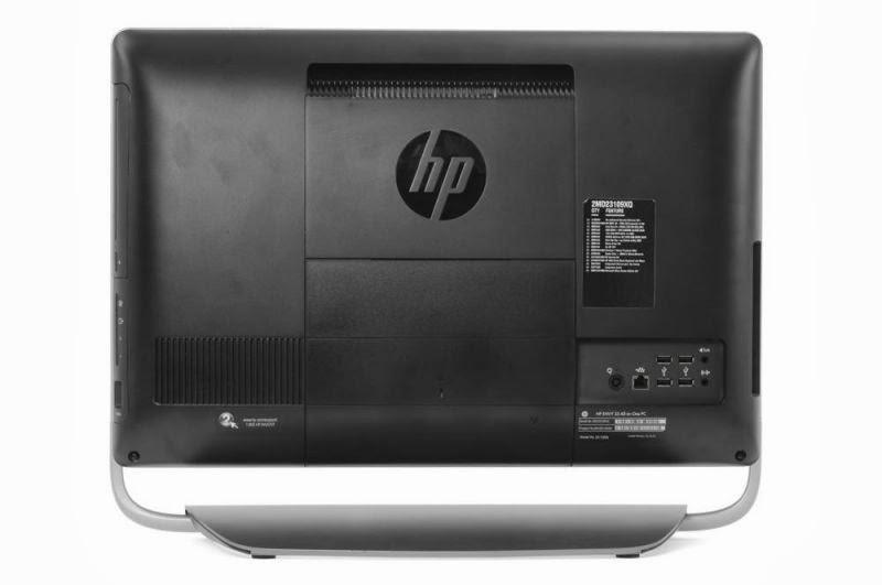 задняя сторона моноблока HP ENVY 23