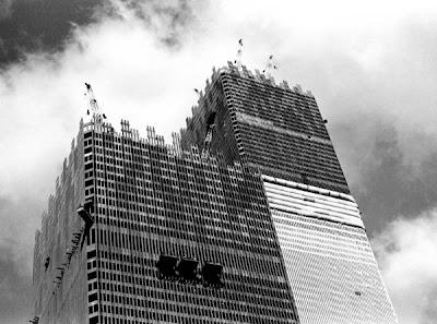torres gemelas construccion