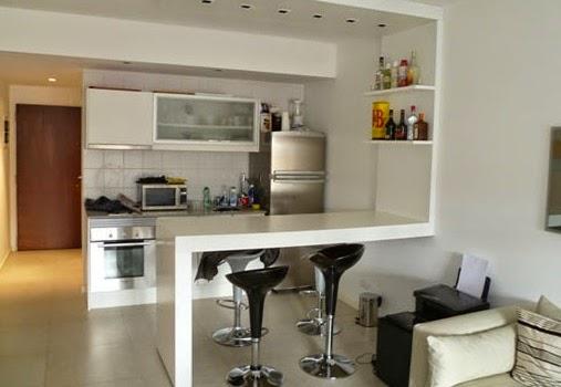 La cocina integrada en los apartamentos