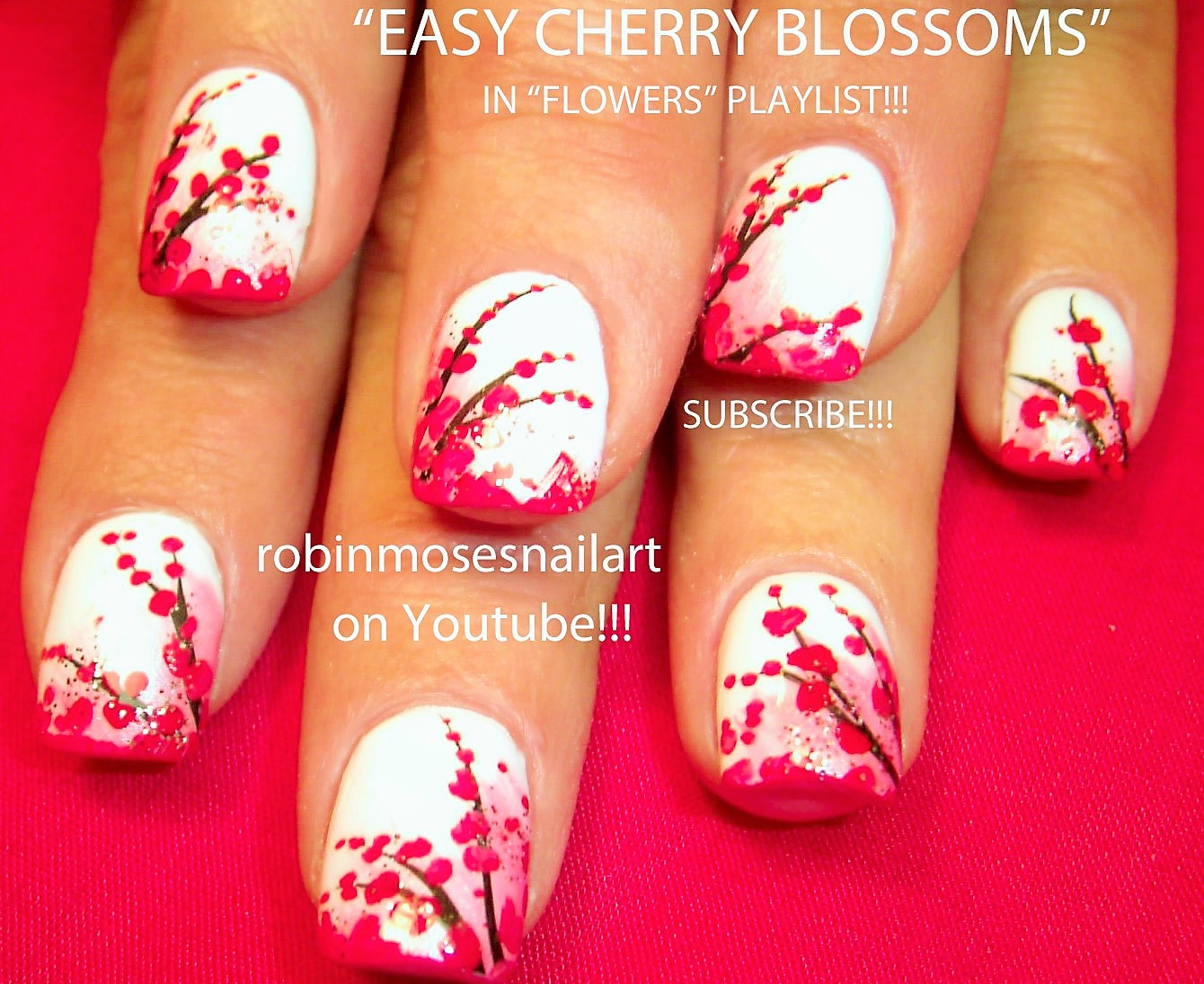 Robin moses nail art flower nails lavender and gray flowers play now prinsesfo Image collections