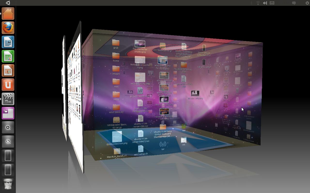 Ubuntu 3d To enable D cube in Ubuntu