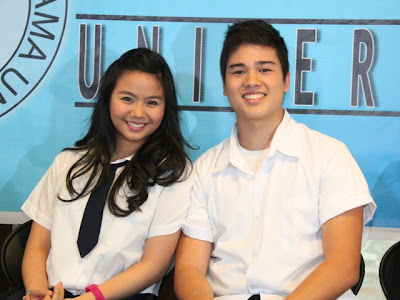 Miles Ocampo and Marco Gumabao
