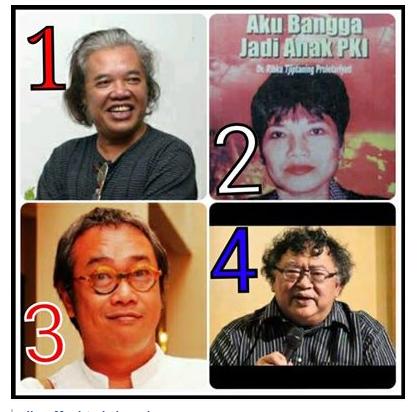 4 tokoh perusuh capres JOKOWI JK