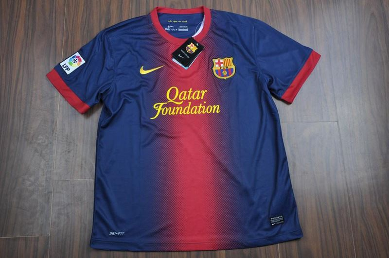jersey barcelona home 2013 depan