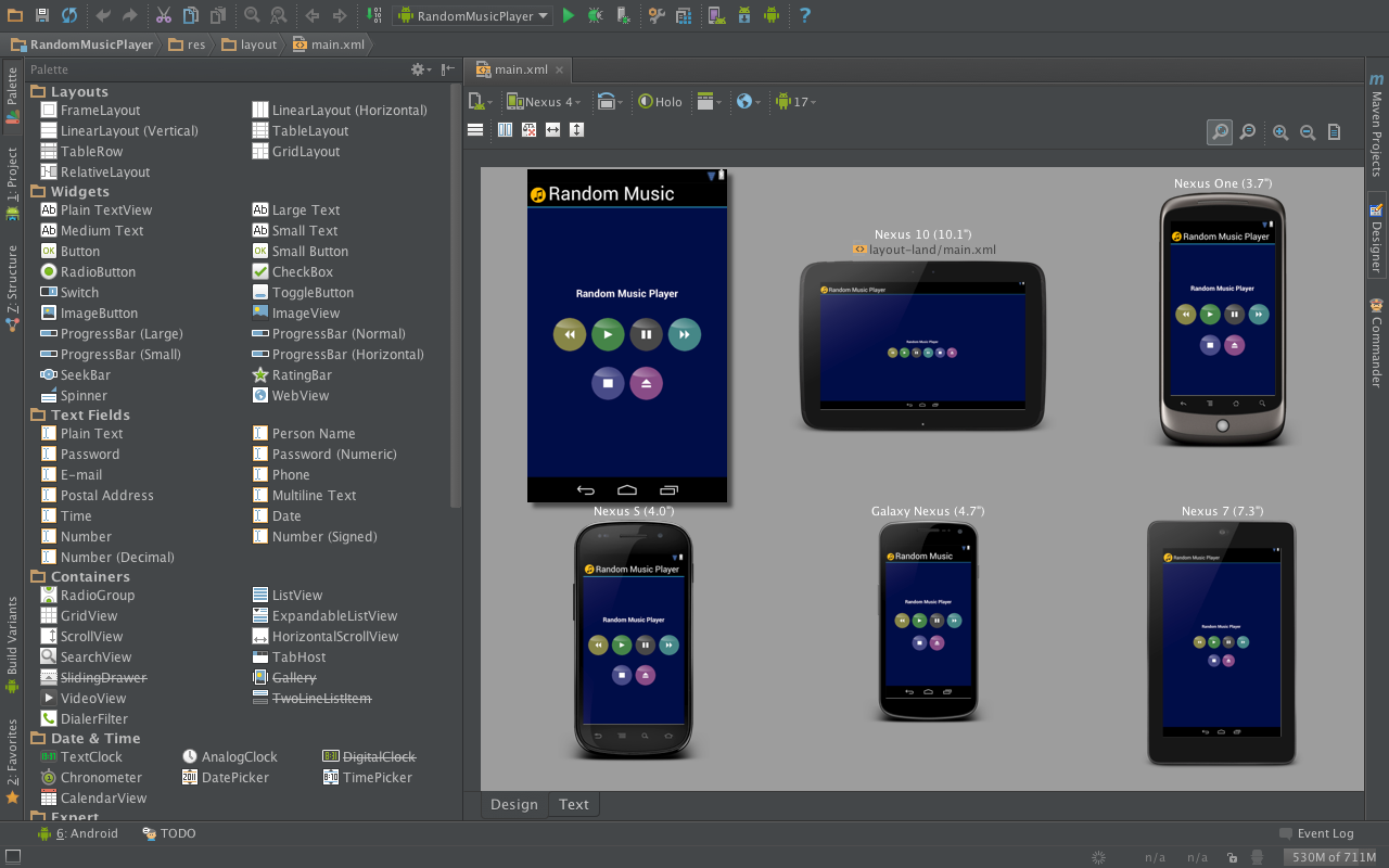 how to get developped android apps on android