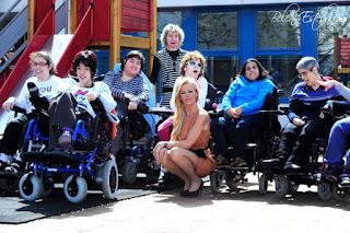 belen esteban solidaria fundacion discapacitados