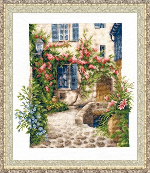 Схема вышивки дворики