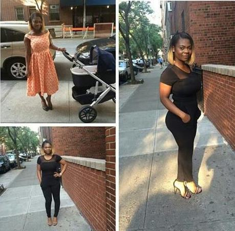 Karen Igho Shows off Post Baby Body