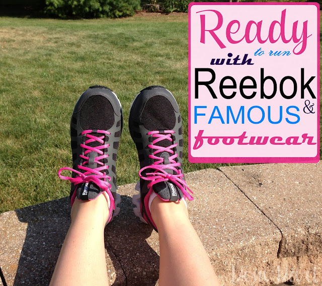 Running Ready with Reebok and FAMOUS footwear #ReebokMom