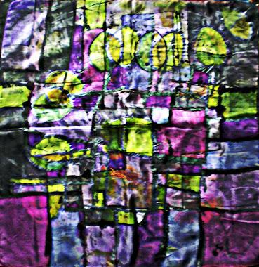 """Square block (22"""" X 22"""") 25/10/2010"""