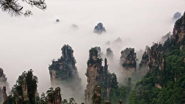 Las montañas Tián – China