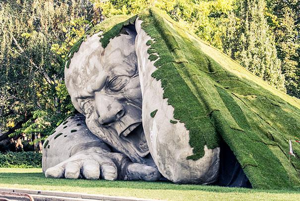 Escultura de Ervin Loránth Hervé
