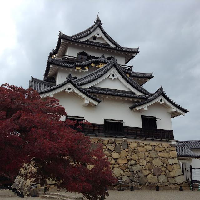 Hikone Castle, Momiji