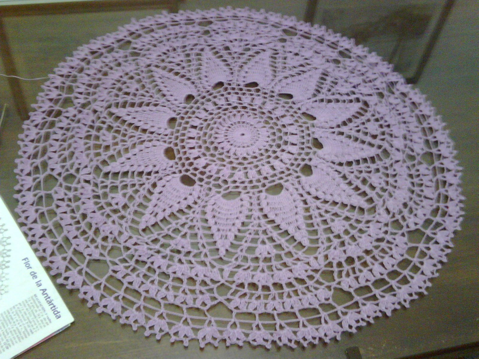 Patrones de carpetas a crochet - Imagui