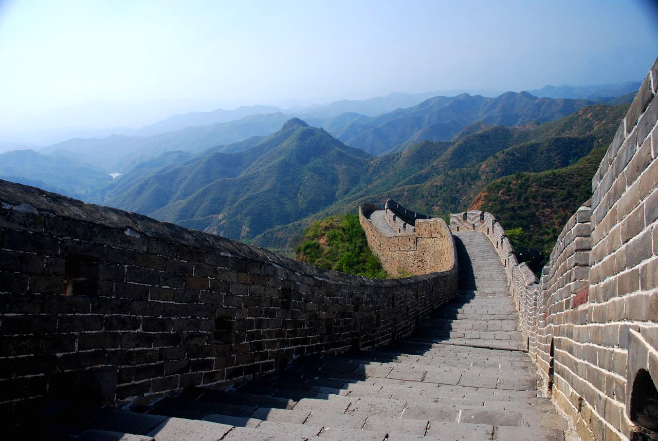 World historical places the great wall of china for Great pictures of the world