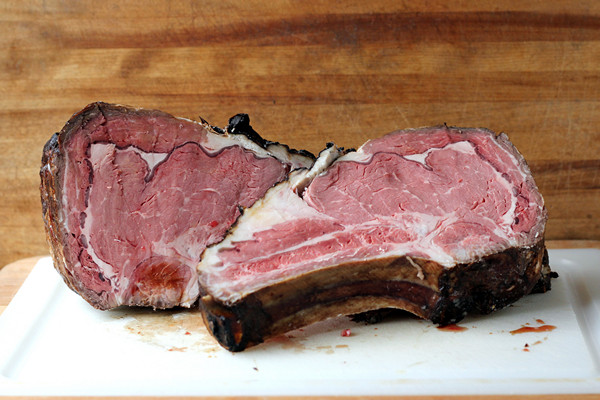 cookistry having fun with sous vide rib roast. Black Bedroom Furniture Sets. Home Design Ideas