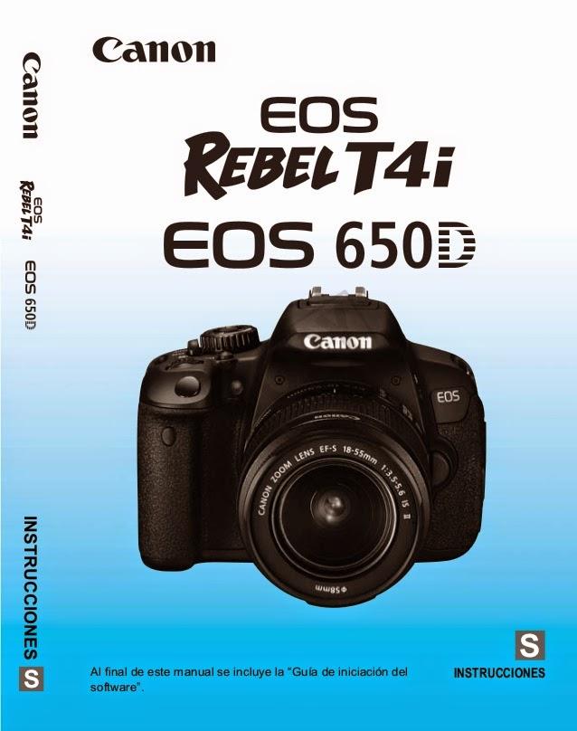 دليل كاميرا كانون 600d