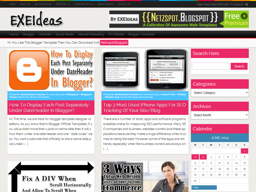 EXEIdeas-WordPress-Theme-v1