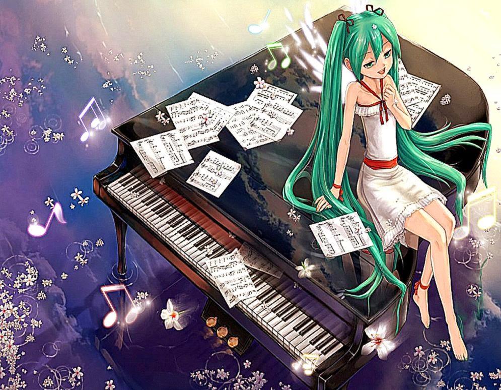 View Original Size Anime Music Wallpaper Hd Background