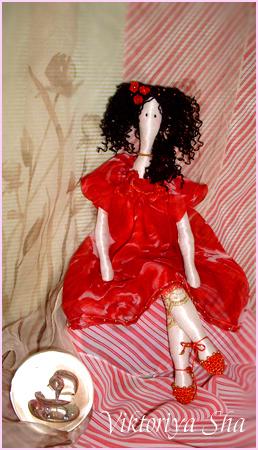 текстильная кукла Катрина