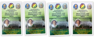 Foro de Filosofía INEM 2012. Homenaje a José Ramón Mercado