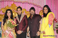 Celebraties at Actor Bharat n Jessy Wedding Reception Photos+%252875%2529 Actor Bharath n Jessy Wedding Photos